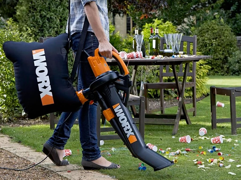 Worx Trivac Blower Mulcher Vac Reviews
